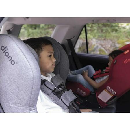 Diono Rainier 2AXT Convertible Car Seat - Grey Dark Wool - image 6 de 9