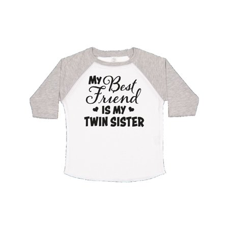 My Best Friend is My Twin Sister with Hearts Toddler (Best Items For Twins)