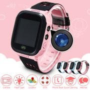 Smart Watch Waterproof GPS Track SOS Call Anti-lost Kids Children Digital Wrist Sport Watch Touch Screen Cellphone Camera Flash Light For Android IOS