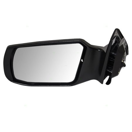 Drivers Power Side View Mirror Smooth Replacement for Nissan Sedan 96302JA04A, Brand new aftermarket replacement By AUTOANDART