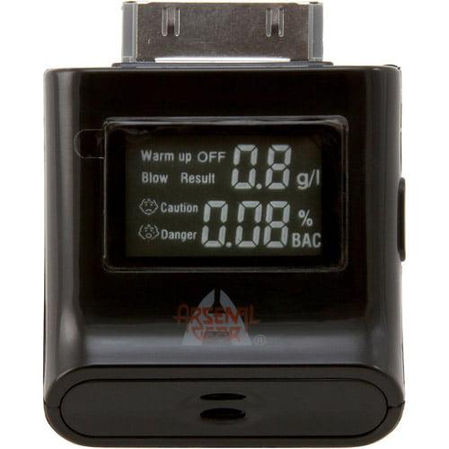 Arsenal Gaming Apple iPad/iPhone/iPod Alcohol Detector