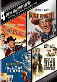 4 Film Favorites: Randolph Scott Westerns (DVD) by WARNER HOME VIDEO
