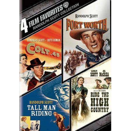 4 Film Favorites: Randolph Scott Westerns (DVD) (Prometheus The Art Of The Film)