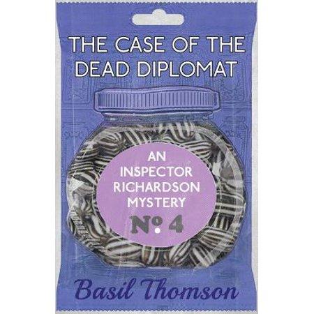 The Case of the Dead Diplomat : An Inspector Richardson - City Of Richardson Halloween