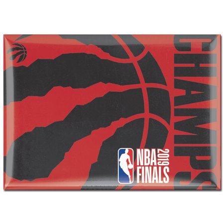 Toronto Raptors WinCraft 2019 NBA Finals Champions 2.5'' x 3.5'' Metal Fridge Magnet - No (Best Moving Magnet Cartridge 2019)