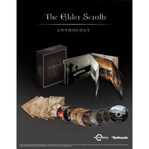 elder scrolls anthology steam keys