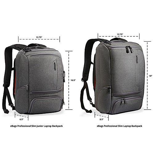 4b837237b3a5 eBags TLS Professional Slim Junior Laptop Backpack - Walmart.com