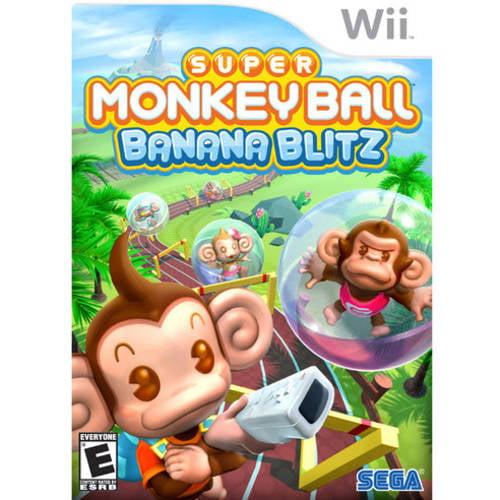 Super Monkey Ball-Banana  (Wii) - Pre-Owned