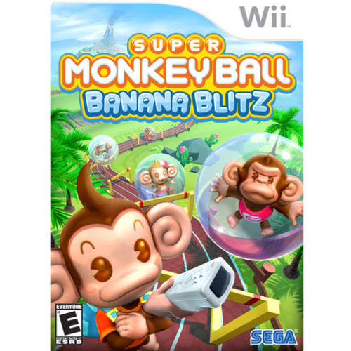Super Monkey Ball-Banana  (Wii) - Pre-Owned