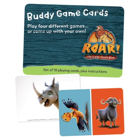 Group's Easy Vbs 2019: Buddy Game Card (Set of 20) - Group Vbs 2017