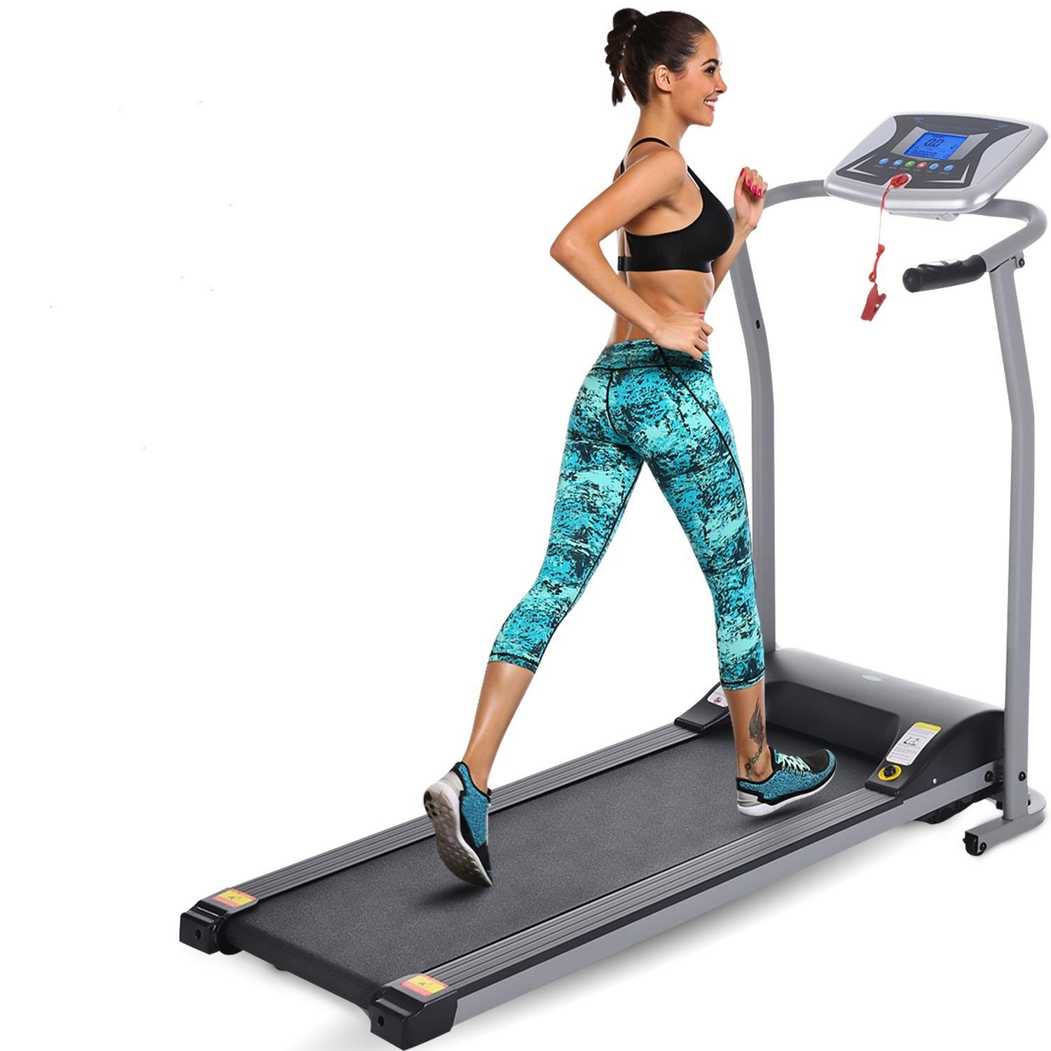 Hascon 2.5HP+12 sports Modes Treadmill Fitness Folding Electric Treadmill Exercise Equipment Walking Running Machine Gym... by
