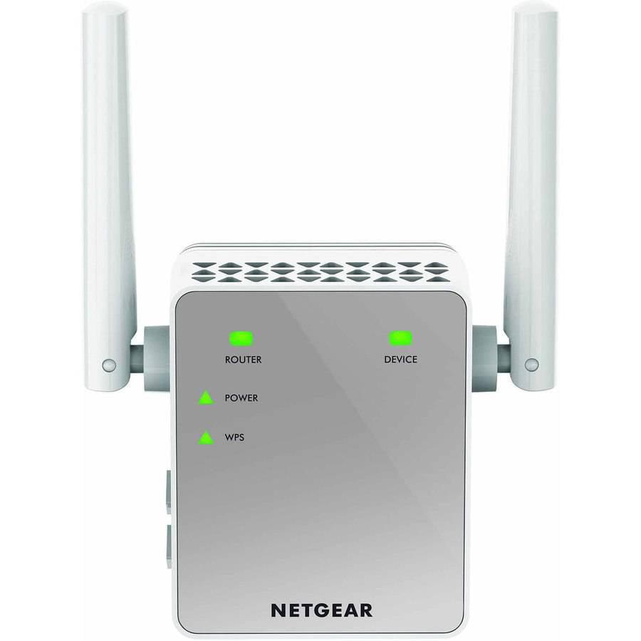 NETGEAR AC750 WiFi Range Extender, Wall-Plug (EX3700) by NETGEAR