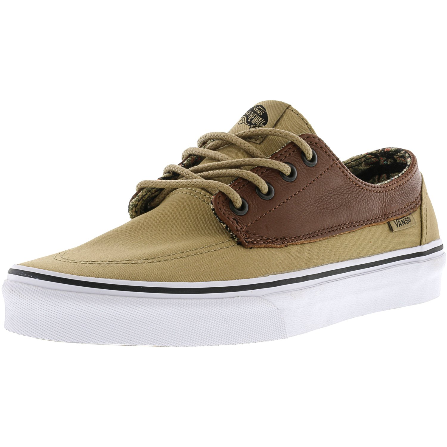 Vans Brigata C And L Moroccan Geo / Khaki Ankle-High Canvas Skateboarding Shoe - 11M 9.5M - image 1 of 1