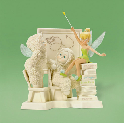 Department 56 Snowbabies Disney Tinkerbell Tink' Flight School