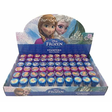 Disney Frozen Anna Elsa Olaf 30x Stampers Self-inking Birthday Party Favors - Olaf Birthday