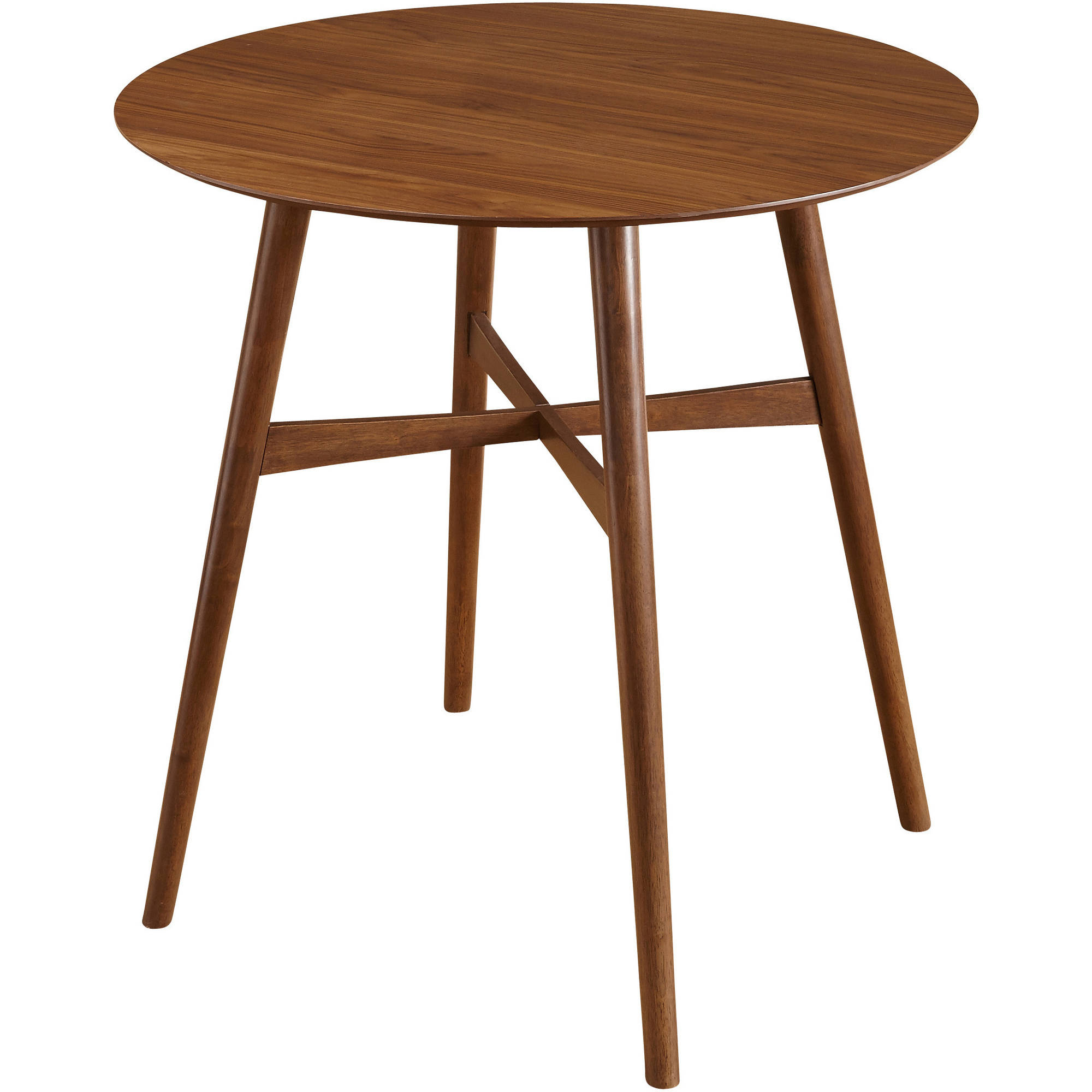Ferris Mid-Century Pub Table, Walnut by Overstock