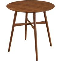 Ferris Mid-Century Pub Table, Walnut by Overstock