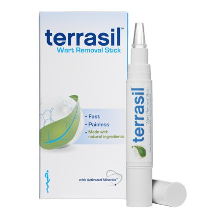 Terrasil Wart Removal Stick With All Natural Activated Minerals