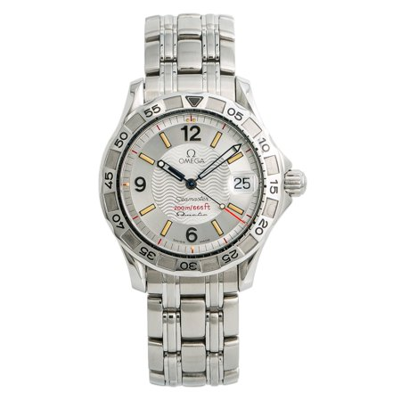 Pre-Owned Omega Seamaster 196.1526 Steel 36mm  Watch (Certified Authentic & Warranty) Omega Silver Watch