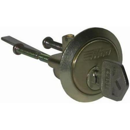 2PK Zinc Rim Replacement Cylinder With A 5 Pin Tumbler (5 Pin Tumbler Cylinder)