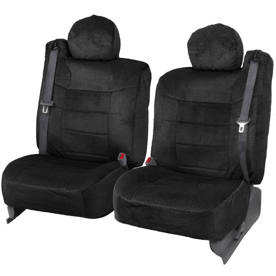 BDK Pickup Truck Seat Covers with Built In Seat Belt, Scottsdale
