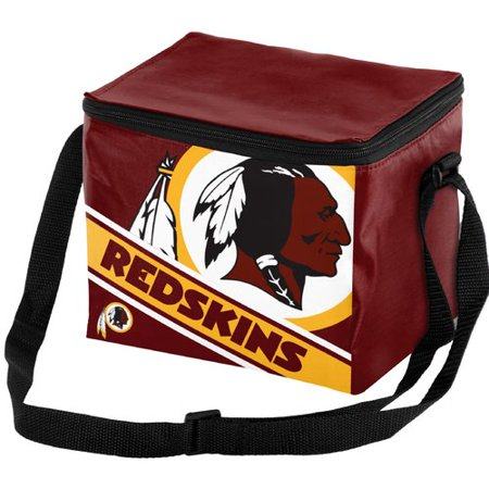NFL Forever Collectibles Big Logo Stripe 6 Pack Cooler, Washington (Oregon State 12 Pack Cooler)