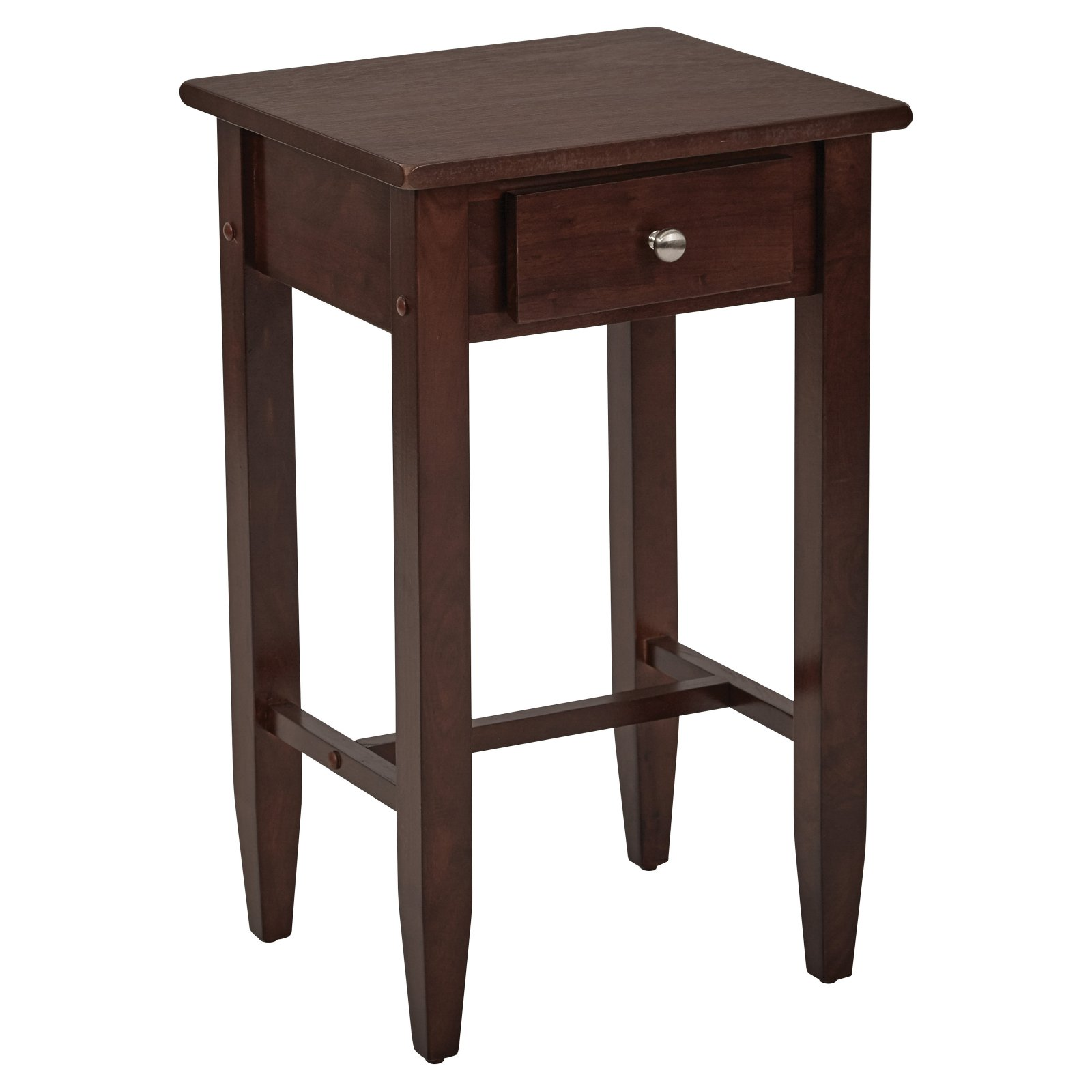 Tall Side Table, Espresso