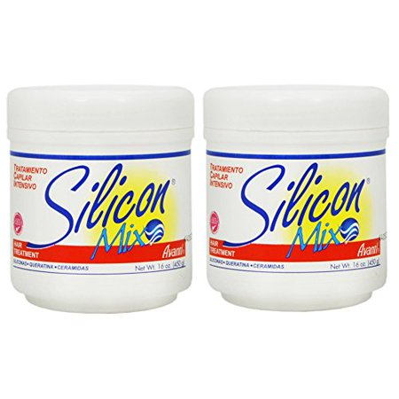 Silicon Mix Intensive Hair Treatment 16Oz  Pack Of 2