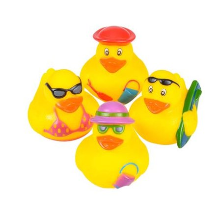 Rhode Island Novelty - Rubber Ducks - BEACH DUCKIES (Set of 4 - Rubber Duckies For Sale
