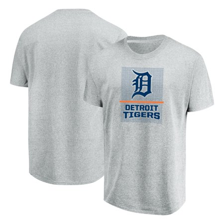 Detroit Tigers Majestic Flying High Big & Tall T-Shirt - Heathered Gray