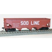 Accurail 75061 HO Soo Line 70-Ton Offset-Side Triple Hopper