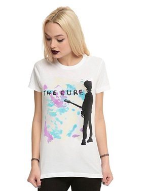 12d7bf1d9 Product Image The Cure Boys Don't Cry Junior Women's T-Shirt. Bravado