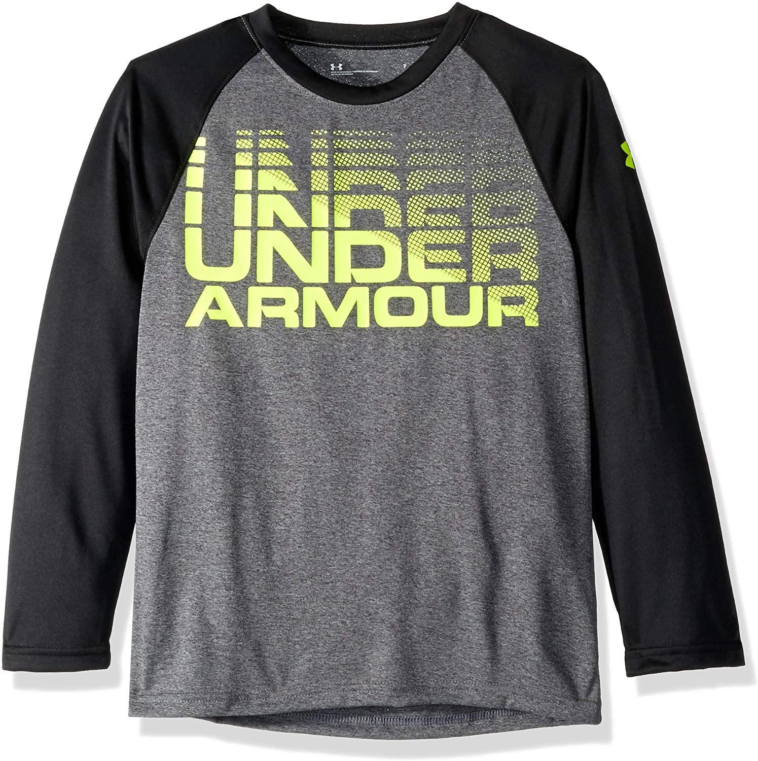 Under Armour Boys Long Sleeve Graphic Tee Shirt