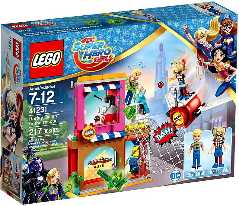 Lego DC Super Hero Girls Harley Quinn to the rescue 41231 by LEGO Systems, Inc.