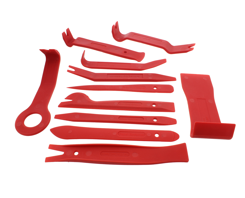 Set 5 Door Panel Car Trim Removal Tool Kit Clip Plastic Fastener Remover C P~PA