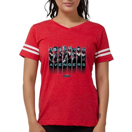 CafePress - Avengers Endgame Characters - Womens Football Shirt - The Avengers Women