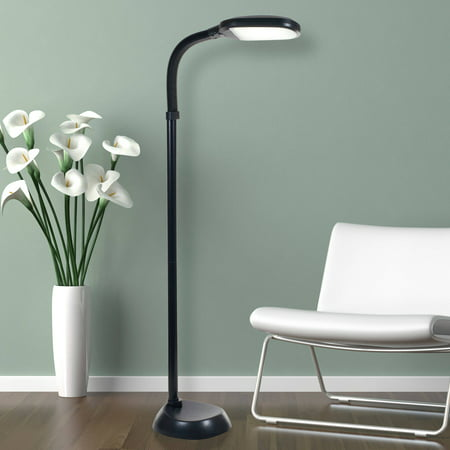 Lavish home led sunlight floor lamp with dimmer switch walmart lavish home led sunlight floor lamp with dimmer switch greentooth Gallery
