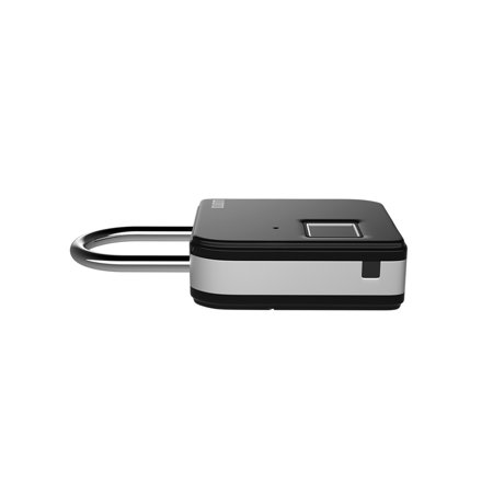 BUBM Smart Fingerprint Padlock Portable Intelligent Lock with 10 Fingerprint Recordings IP65 Waterproof USB Rechargeable Luggage and Travel Use - image 5 of 7