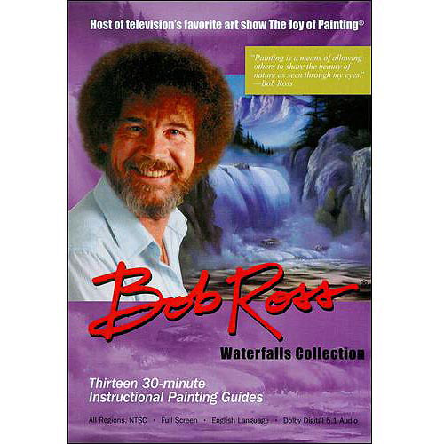 Bob Ross - The Joy Of Painting: Waterfalls Collection (Full Frame)