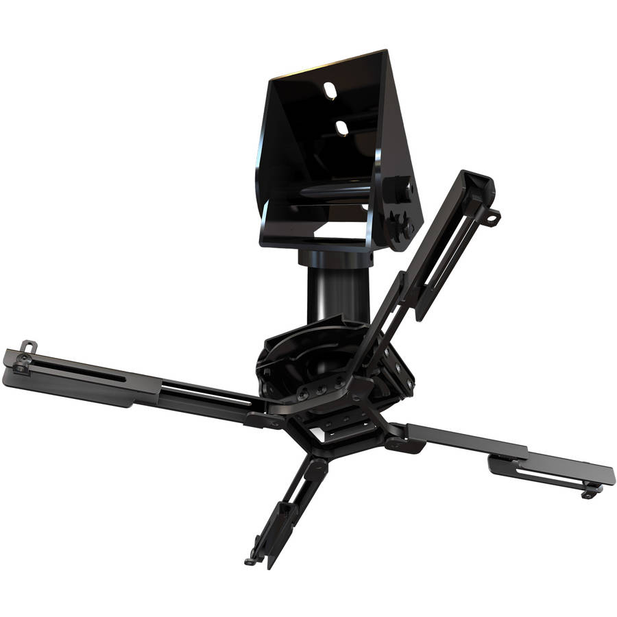 QualGear QG-PRO-PM-50-W 1.5-Inch Pro-AV Threaded Extension Pipe Mount Accessory for Projector