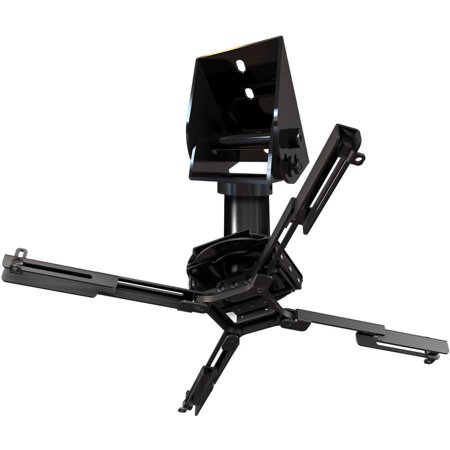 QualGear Pro-AV Projector Mounting Kit with Vaulted Ceiling Adapter and 3