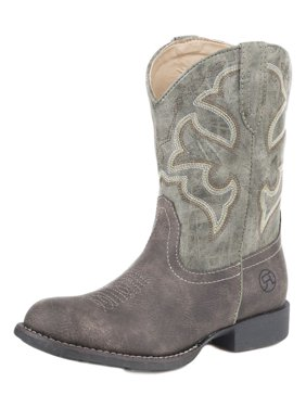 9b10cafc4c7d0 Free shipping. Product Image Roper Western Boots Girls Stitching 6