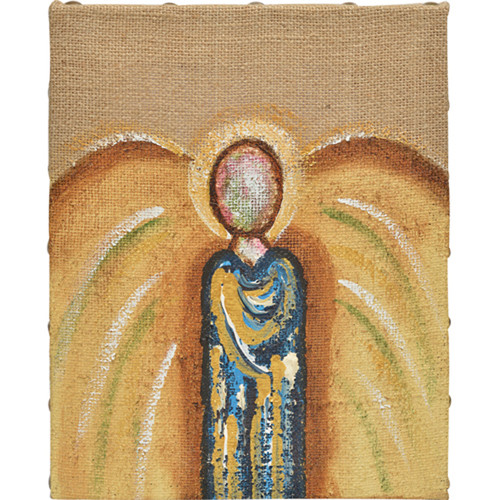 Thompson and Elm Be Still and Know Angel Painting Print on Canvas
