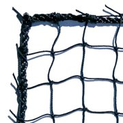 Dynamax Sports #18 Baseball Backstop Barrier Net, 10' x 15', Black by DYNAMAX SPORTS