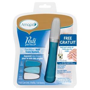 Amopé Pedi Perfect™ Electronic Nail Care System Kit