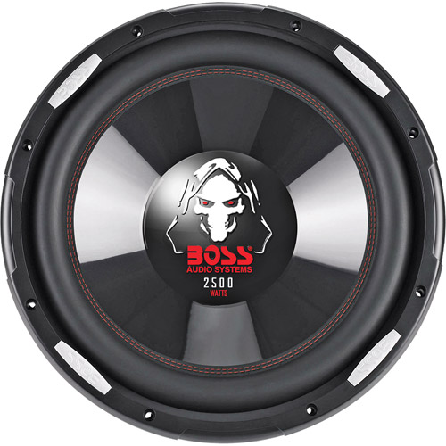"Boss Audio Phantom 15"" DUAL Voice Coil (4 Ohm) 2500-watt Subwoofer"
