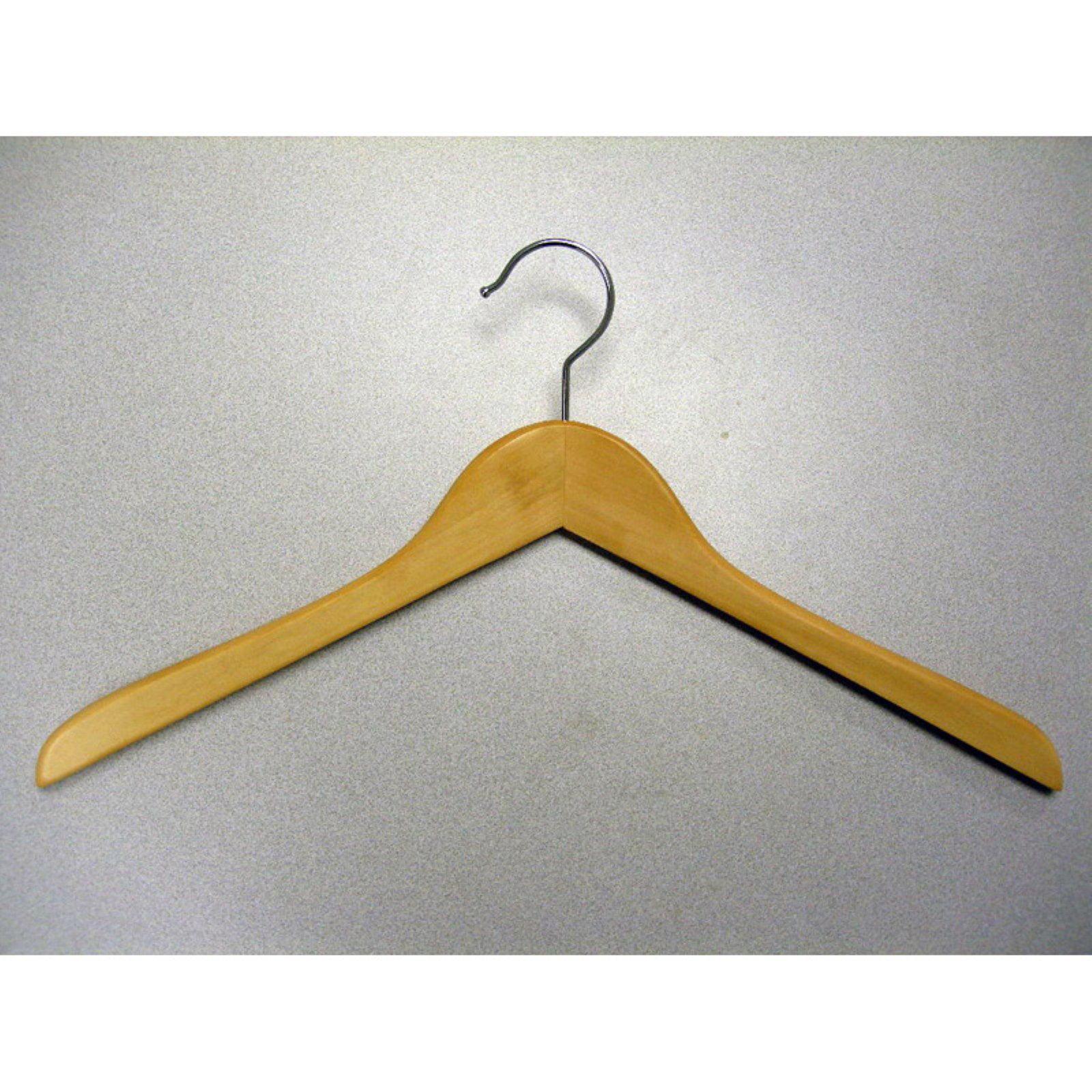 Proman Gemini Concave Coat Hanger - 50 Pieces