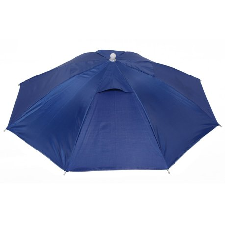 Outdoor fishing camping royal blue umbrella hat headwear cap for Fishing hats walmart