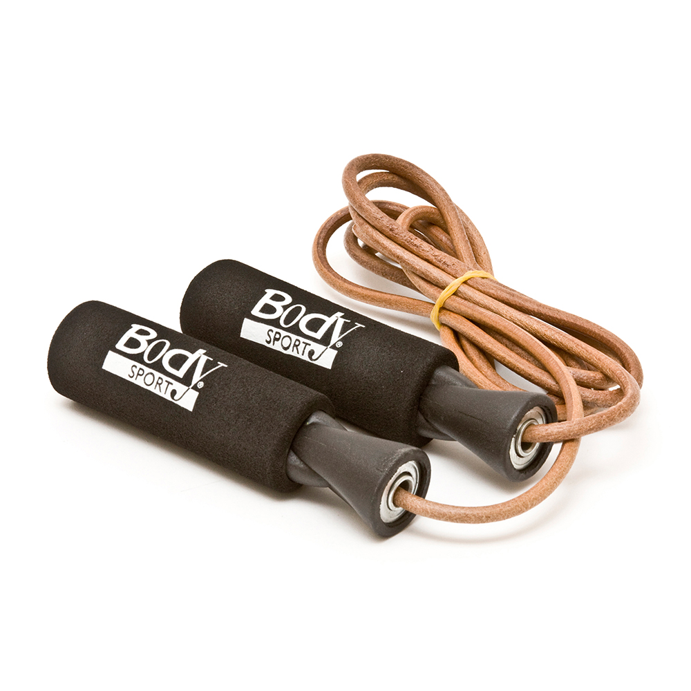 Body Sport Leather Speed Rope
