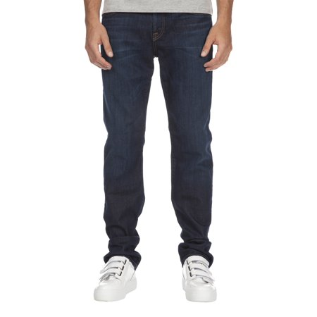 7 For All Mankind Men's Luxe Performance Straight Jean ATA121629A North Pacific 7 For All Mankind Jeans Roxanne